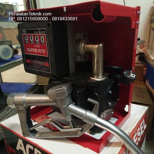 Jual Flow meter Diesel Pump set SUPER RITE