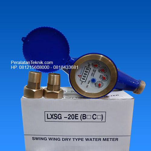 Flow meter air bersih 0.75 inch Amico DN20 3/4 inci