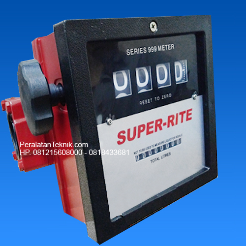 Flow meter SUPER RITE 4 digit